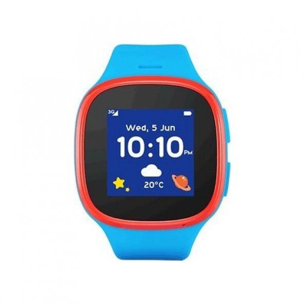 Alcatel Movetime MT30 Akıllı Çocuk Saati - Mavi
