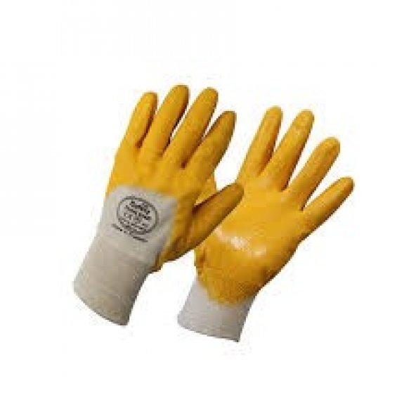 Maxsafety Eldiven Sarı Nitrit 10 Numara 1 Çift
