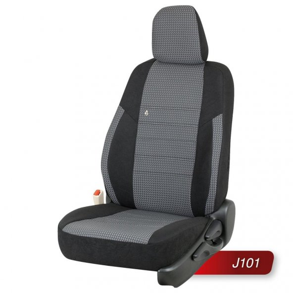 Otom Ford Tourneo Courier  2014-Sonrası  Special Kumaş Araca Özel Oto Koltuk Kılıfı