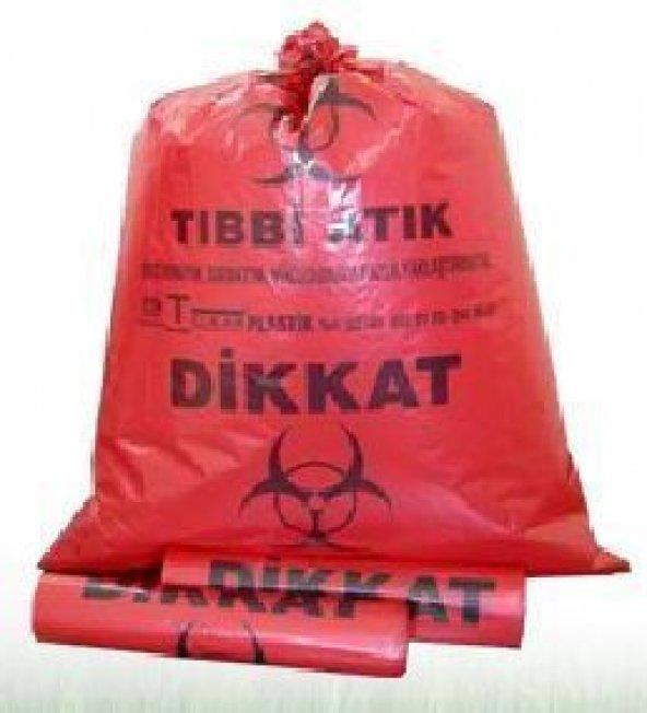 TIBBİ ATIK TORBASI 72X95 CM 100 ADET