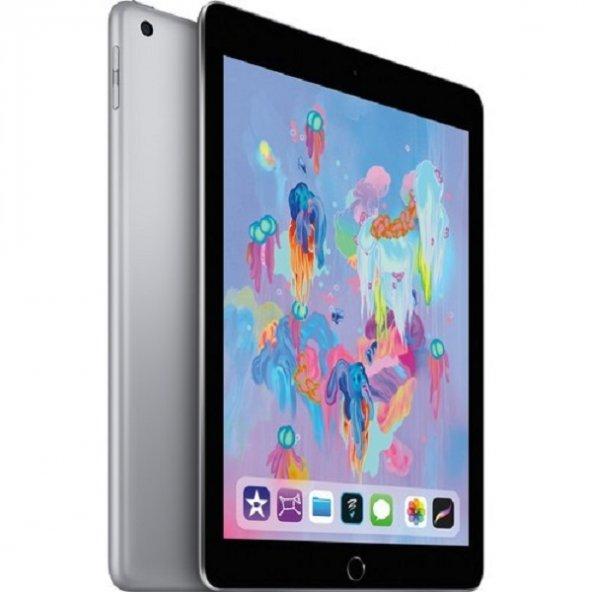 """Apple iPad 6.Nesil 32GB 9.7"""" Wi-Fi IPS Tablet - Uzay Grisi MR7F2TU/A"""