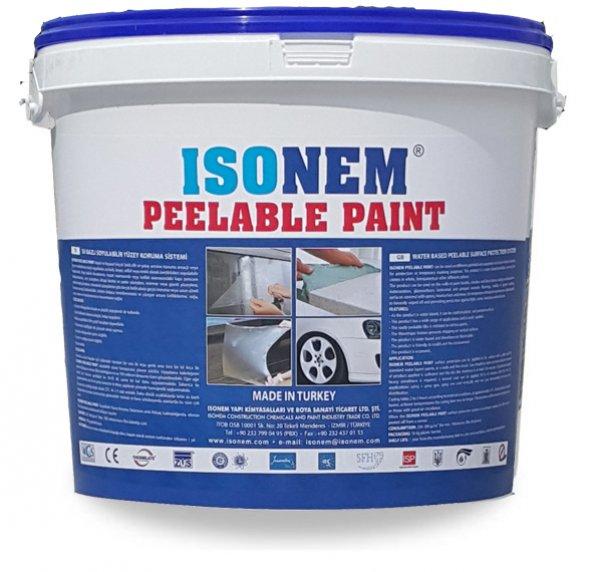 Isonem Peelable Paint ( Soyulabilir Boya ) 10 Lt