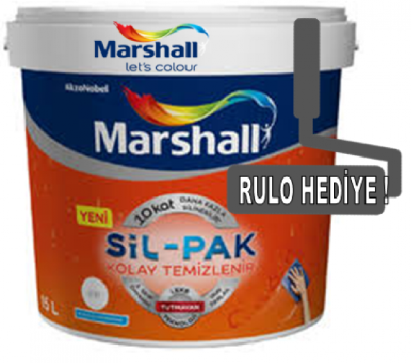 Marshall SİL-PAK Silinebilir İç Cephe Boyası 15 lt/20 kg