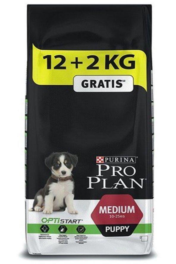 Proplan Puppy Tavuklu Orta Irk Yavru Köpek Maması 14 Kg