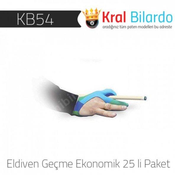 Bilardo Eldiveni - Geçme Ekonomik 1 Paket (25 Adet)