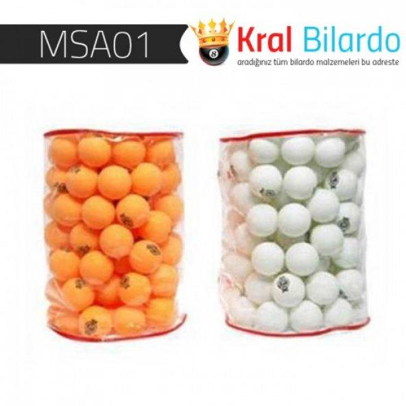 Masa Tenisi Topu (ping Pong) Topu ( Özel Taşıma Çantalı ) - 100