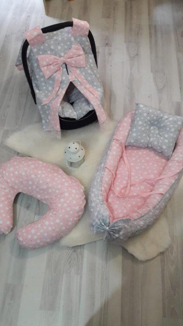 Yeni Doğan Bebe Seti - Baby Nest ve Puset Ürünleri full001