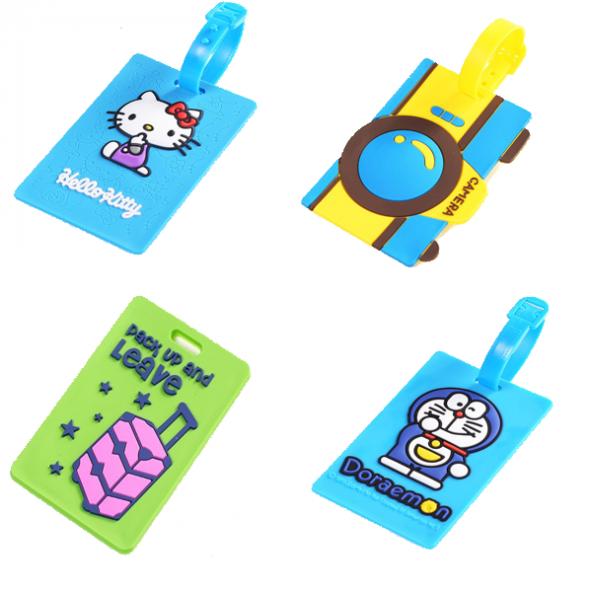 Valiz Etiketi-Bavul Etiketi-Kampanyalı 4 Adet