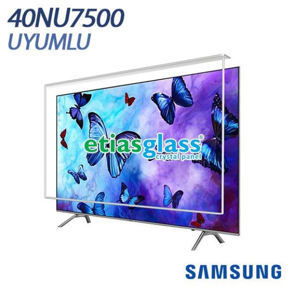 SAMSUNG 40NU7500 TV EKRAN KORUYUCU / EKRAN KORUMA CAMI Etiasglass