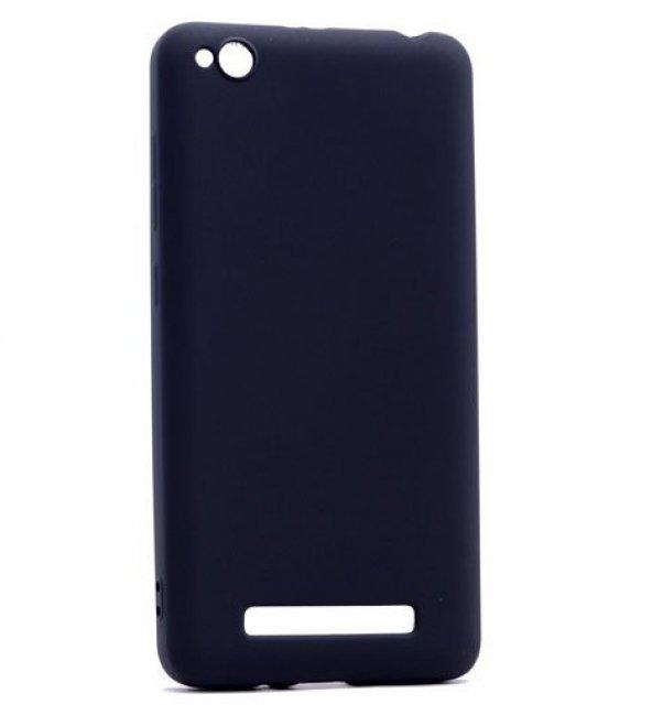 Xiaomi Redmi 4a Kılıf Silikon Premium Kapak Siyah + Kırılmaz Cam Ekran Koruyucu