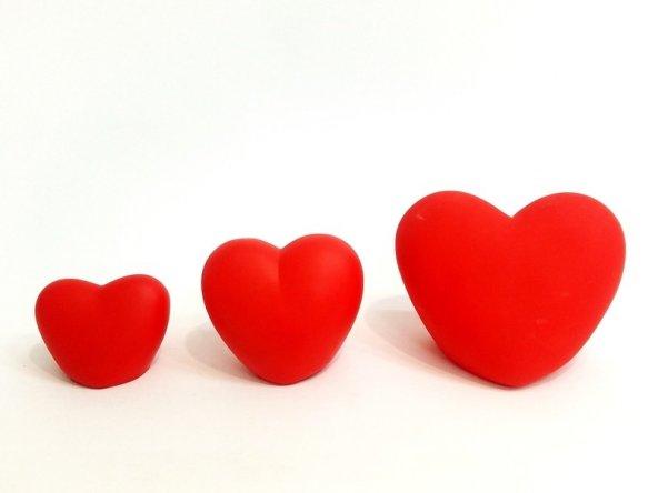 Işıklı Kalp Led Pilli Küçük