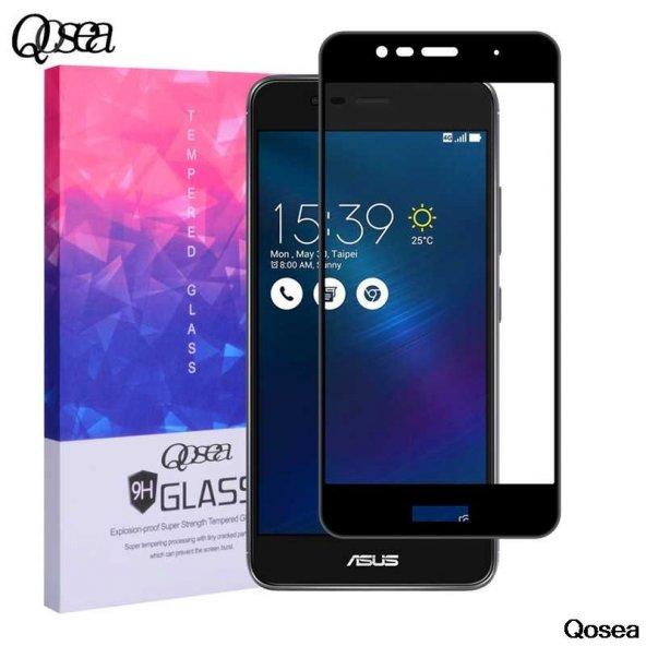 Asus Zenfone 3 Max ZC553KL Ekranı Tam Kaplayan Düz Cam Koruyucu