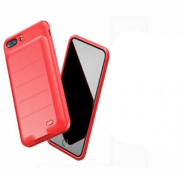 Apple iPhone 7 8 Plus Baseus Ample Bataryalı Şarjlı Kılıf 3650 Mah