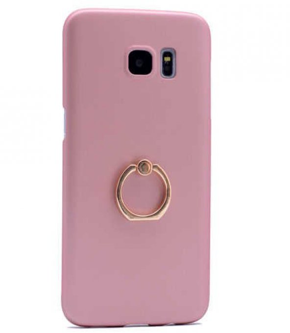 Samsung Galaxy S7 Edge Kılıf Yüzüklü Rubber Kapak