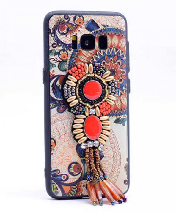 Samsung Galaxy S8 Kılıf Lopard Halhal Silikon Kapak