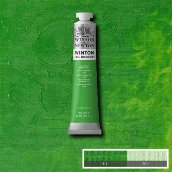 Winsor & Newton Winton 200 ml Yağlı Boya No:48 Permanent Green Li