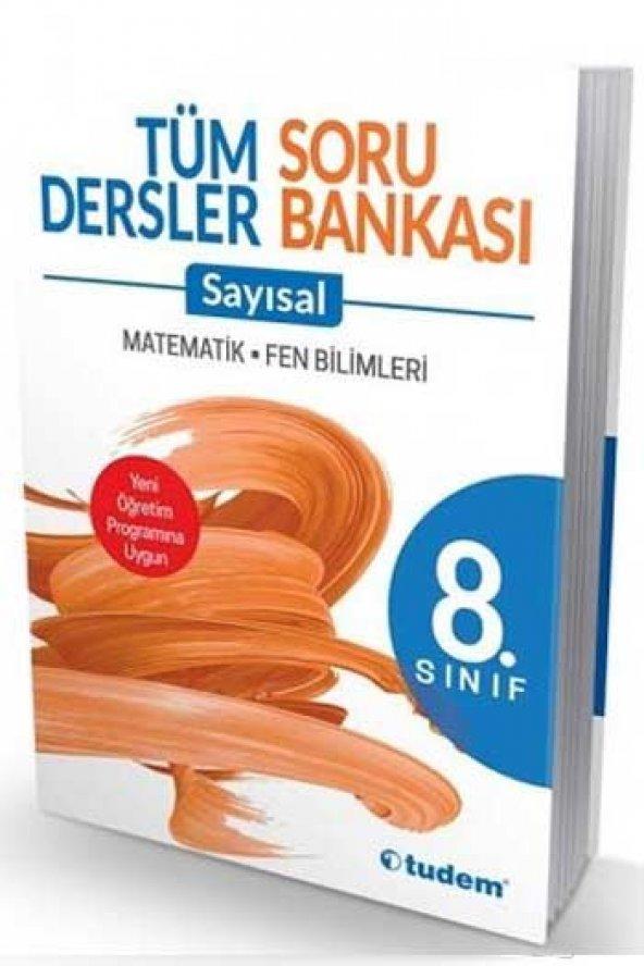 8. Sınıf Tudem  Yayınları Tüm Dersler Sayısal Soru Bankası