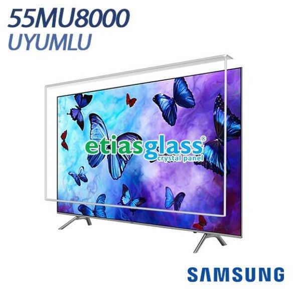 SAMSUNG 55MU8000 TV EKRAN KORUYUCU / EKRAN KORUMA CAMI Etiasglass