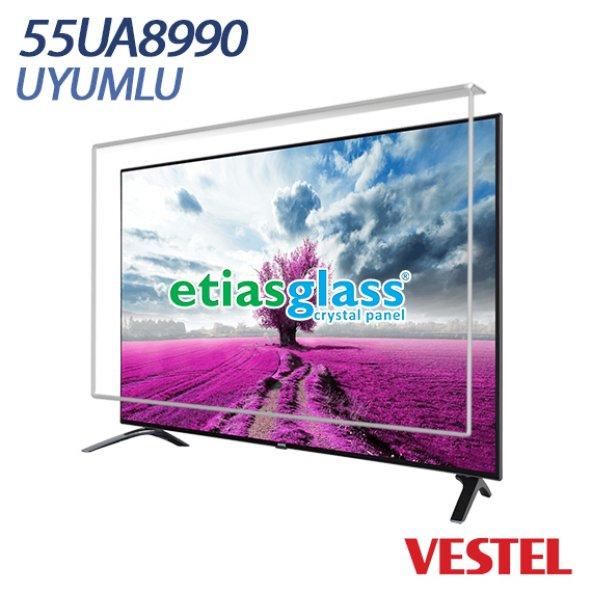 VESTEL 55UA8990 TV EKRAN KORUYUCU / EKRAN KORUMA CAMI Etiasglass