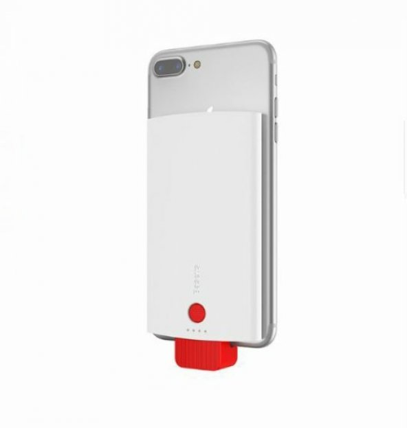 Baseus New Energy Backpack Powerbank 4000mAh Beyaz/Kırmızı