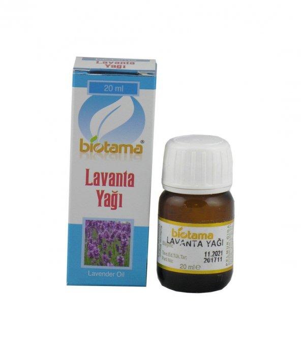 Biotama Lavanta Yağı 20 cc
