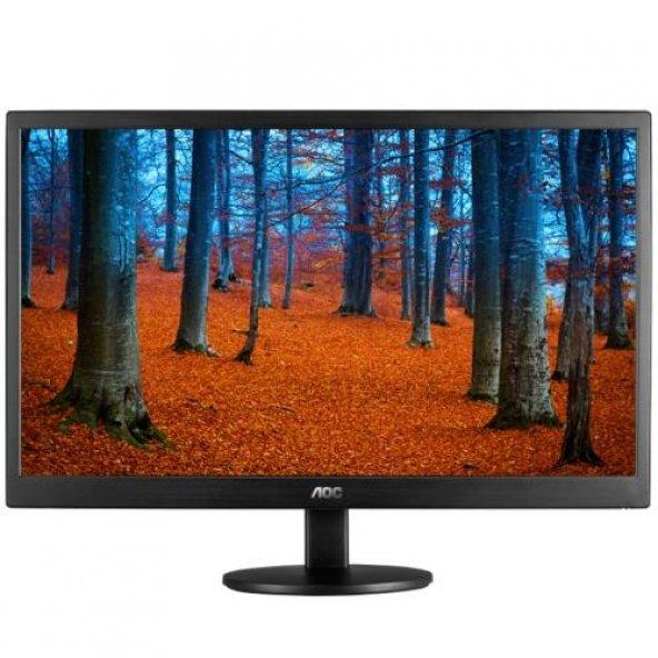 AOC 18.5 E970SWN LCD Monitör Siyah 5ms
