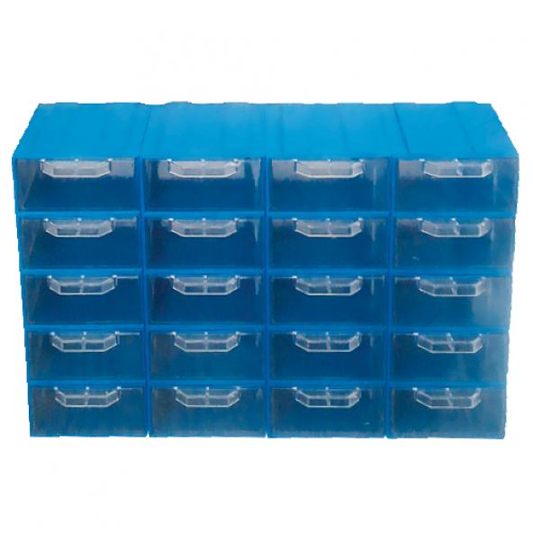 Akar ES 105 Plastik Çekmeceli Kutu (20'li Paket)