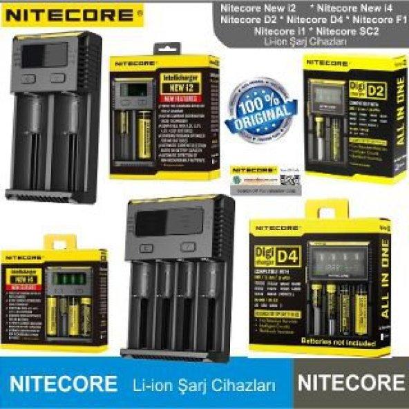 NiteCore Digi D2 LCD Pil Şarj Cihazı