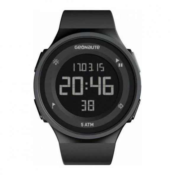 Su Geçirmez Dijital Kronometreli  Koşu Yüzme Spor Antrenman Saati