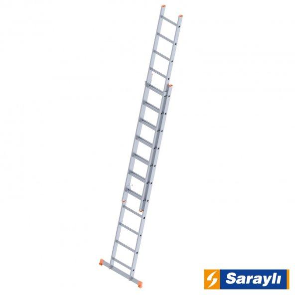 2X11 Basamak İki Kademeli Endüstriyel Merdiven