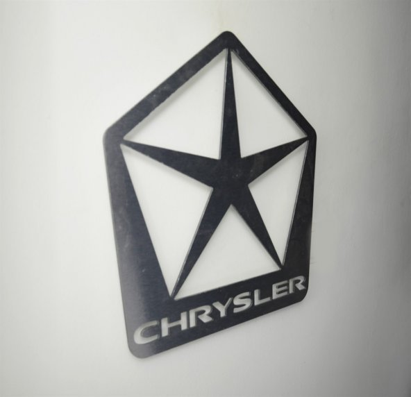 Chrysler Logolu Satin Finish Alüminyum Kompozit Dekoratif Duvar Pano