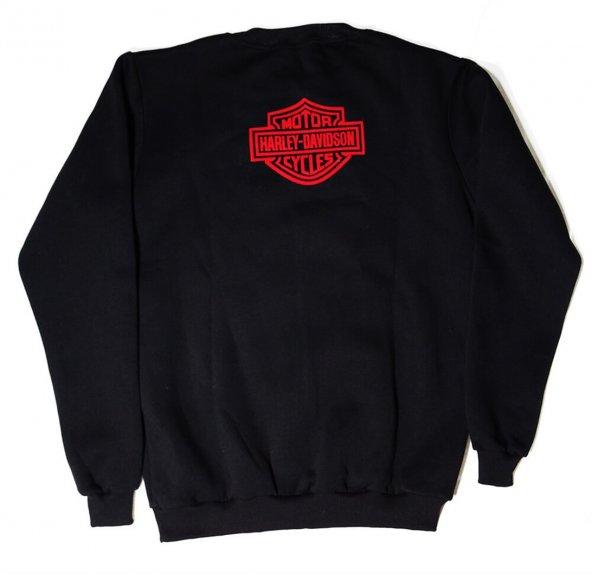 Harley Davidson Logolu Siyah XXL Sweatshirt