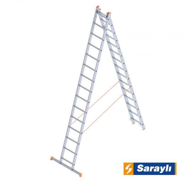 2X15 Basamak A Tipi ve Endüstriyel Merdiven
