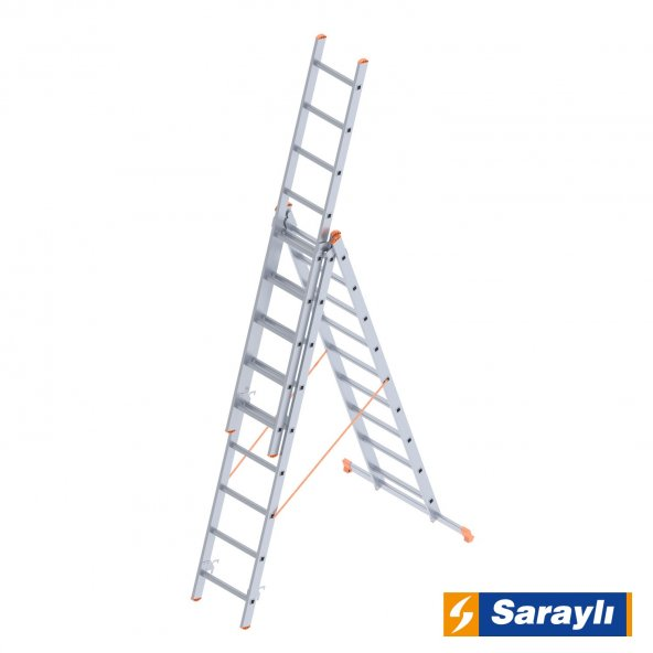 3X9 Basamak A Tipi Endüstriyel Merdiven