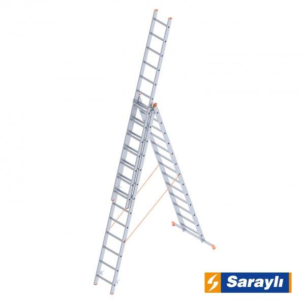 3X13 Basamak A Tipi Endüstriyel Merdiven