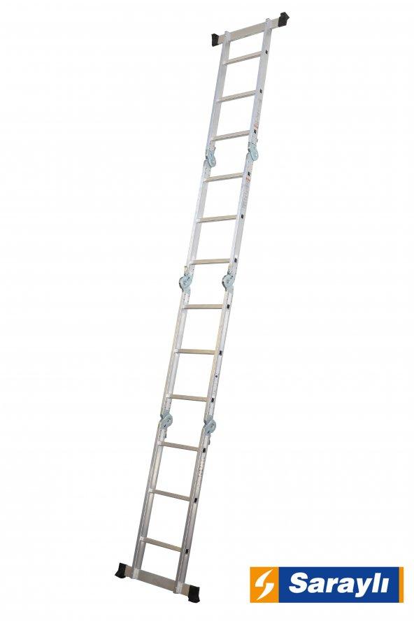 4X3 Basamak Akrobat Merdiven