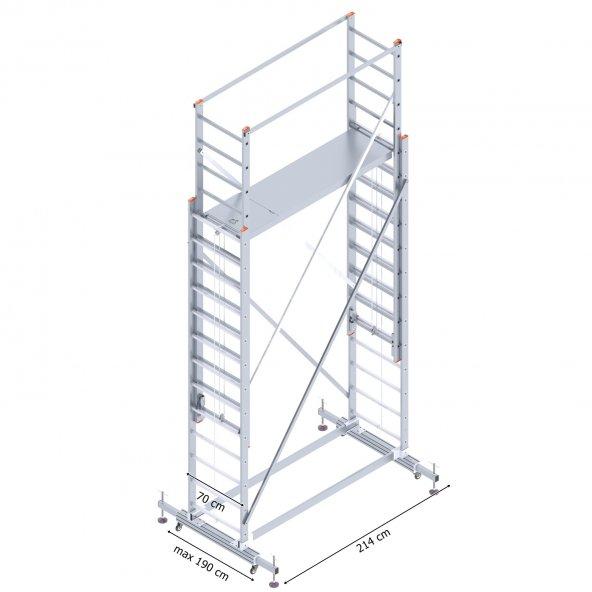 2X3,5 İskele Merdiven