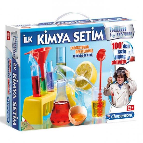Clementoni Deney Seti İlk Kimya Setim 64228