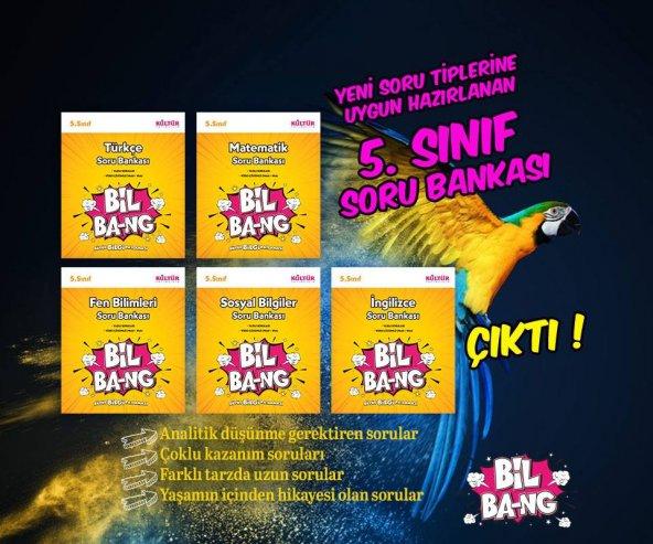 KÜLTÜR YAY 5 SINIF SORU BANKASI SETİ 5 KİTAP SÜPER SET
