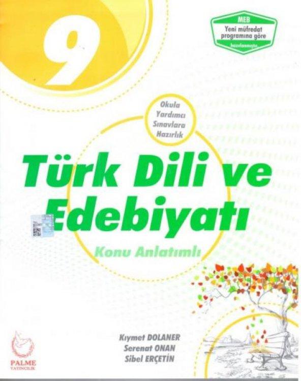 Palme 9. Sınıf Türk Dili ve Edebiyat Konu Anlatımlı
