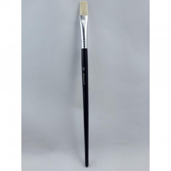 Brons Yağlı Boya ve Akrilik Boya Resim Fırçası No: 10