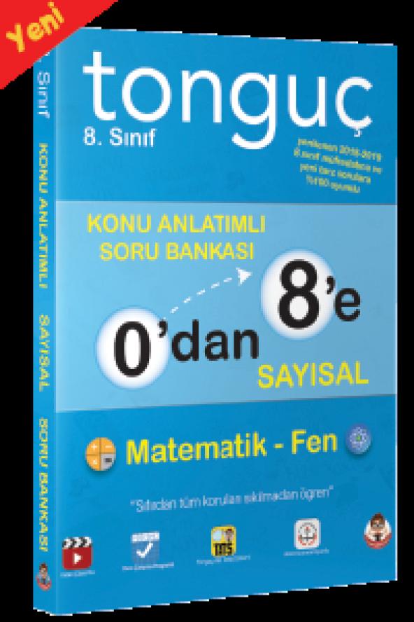Tonguç Yayınları 8. Sınıf LGS 0'dan 8'e Sayısal Konu Anlatımlı Soru Bankası