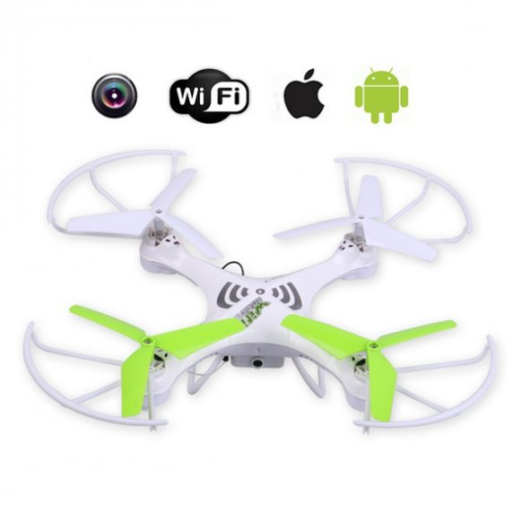 Yabidur Kutulu 2.4Ghz 4Ch Gyro Drone Wıfı Cameralı