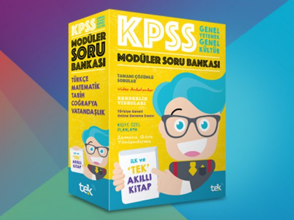 2019 KPSS Genel Yetenek Genel Kültür Modüler Soru Bankası