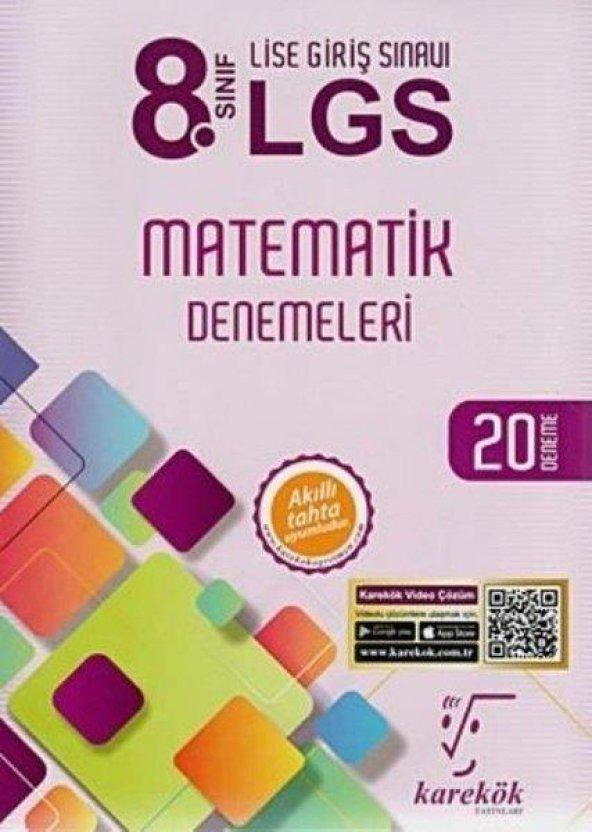 Karekök 8.Sınıf LGS Matematik 20 Deneme