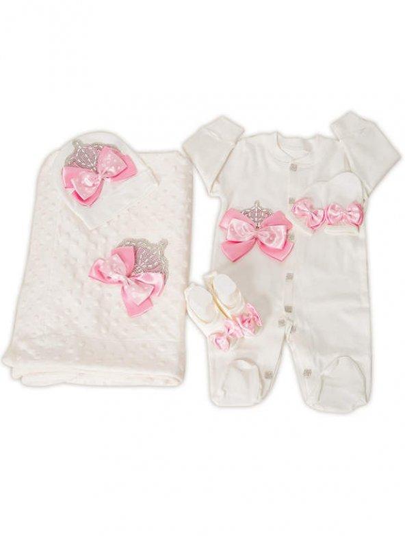 Mecit 5li Bebek Tulum ve Battaniye Seti 206