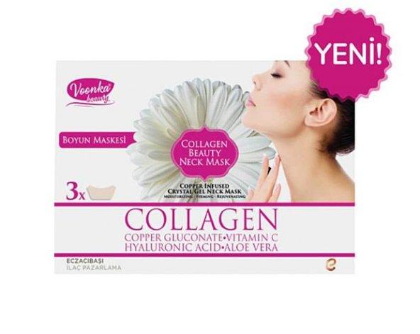 Voonka Beauty Collagen Beauty Neck Mask
