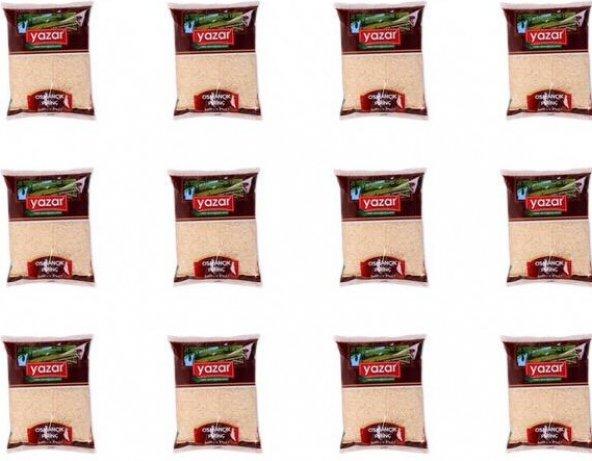 Yazar Osmancık  Pirinç Yerli 1 kg x 12 Adet