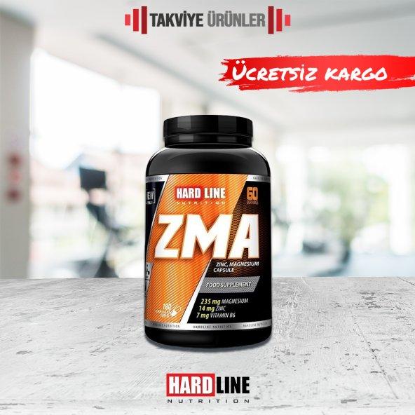 Hardline ZMA 180 Kapsül Çinko - Magenzyum - B6 Vitamin