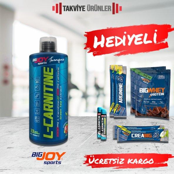 Bigjoy L-Carnitine 1000 ml L-Karnitin + Hediyeli